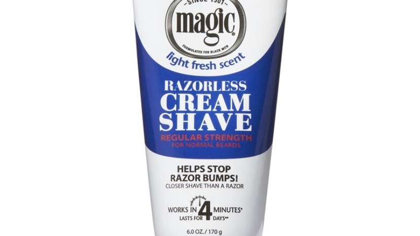 Magic Razorless Cream Shave 6.0oz