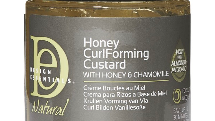 Design Essential Honey Curl Forming Custard