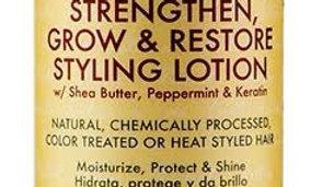 Shea Moisture Jamaican Black Castor Oil, Strengthen & Restore Styling Lotion, Mo