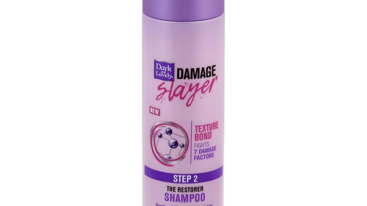 Dark and Lovely Damage Slayer Shampoo, The Restorer, Step 2 - 10.1 fl oz