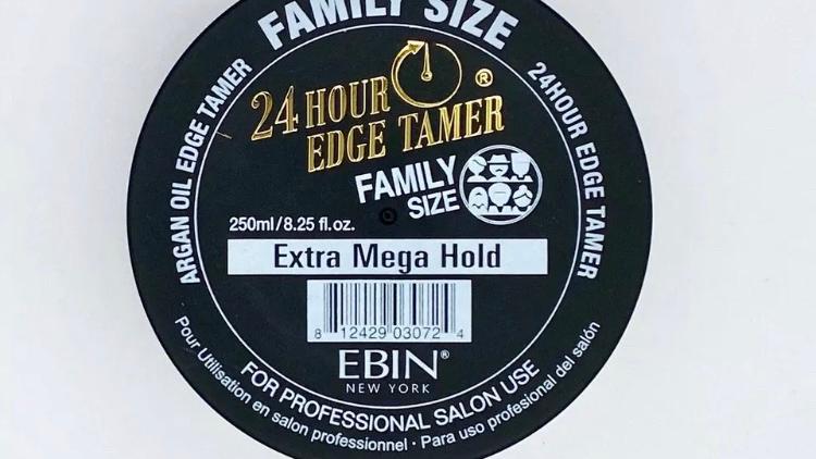 Ebin 24 Hour Edge Tamer Family Size 8.25oz -(extreme Firm Hold/ultra