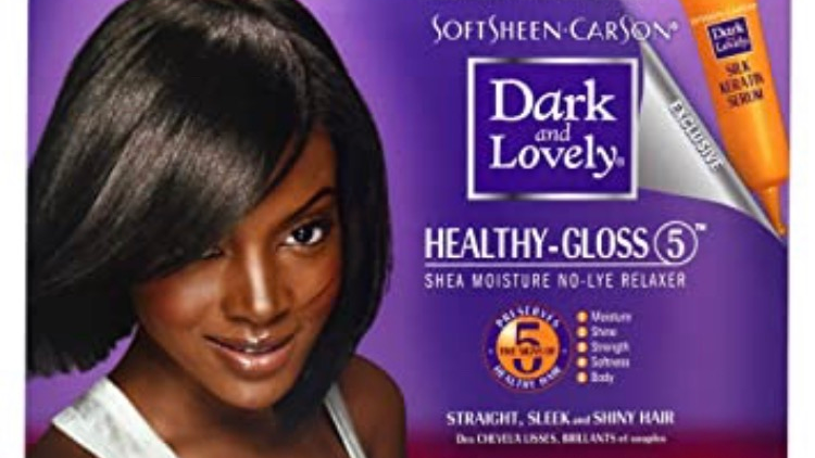 SoftSheen-Carson Dark and Lovely Healthy-Gloss 5 Shea Moisture No-Lye Relaxer -