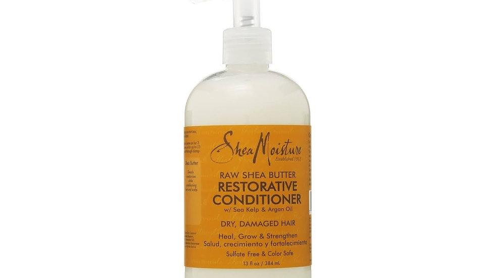 shea moisture raw shea butter restorative conditioner 13 fl oz
