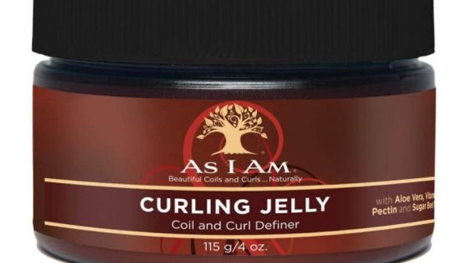 As I Am Curling Jelly - Coil And Curl Definer, 4 Oz