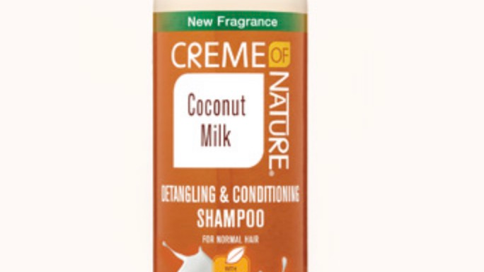 Certified Natural Coconut Milk Detangling & Conditioning Shampoo