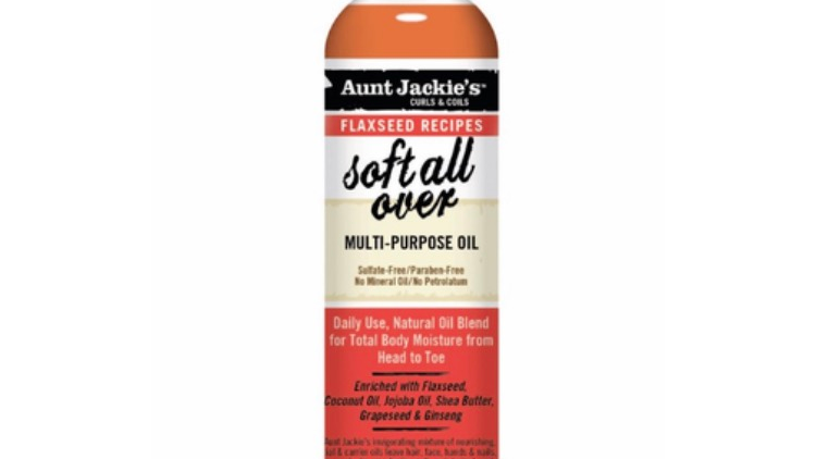 Aunt Jackie's Flaxseed Collection Soft All Over Multi-Purpose Oil 8 oz