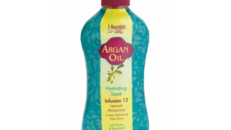 Hawaiian Silky Argan Oil Hydrating Sleek Infusion 12 Leave-In Moisturizer 8oz