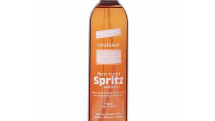 Fantasia IC Liquid Mousse Spritz Hairspray Firm Hold 12 oz