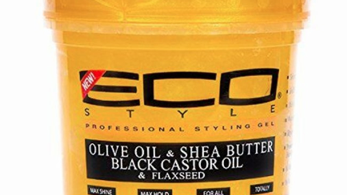 Eco Style Gold Olive Oil & Shea Butter Styling Gel 8 oz