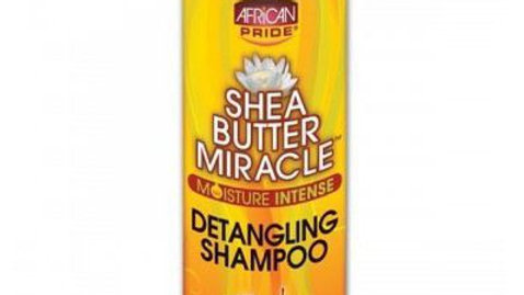 African Pride Shea Butter Detangling Shampoo 12oz Miracle