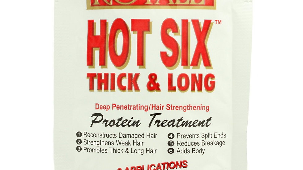 BB African Royale Hot Six Thick & Long Protein Treatment 1.75 OZ
