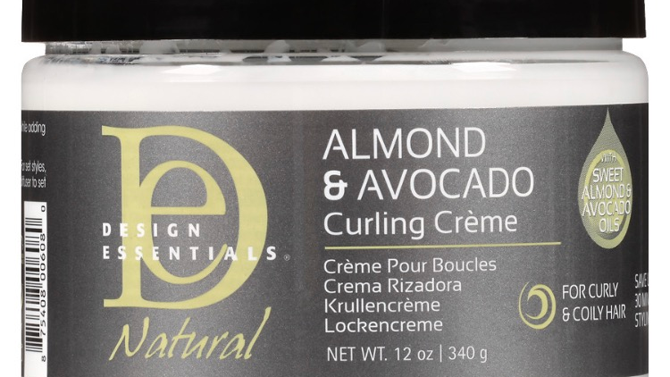 Design Essential Almond & Avocado  curling cream