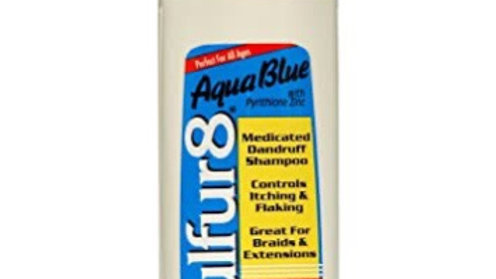 Sulfur8 Aqua Blue Medicated Dandruff Shampoo 7.5oz