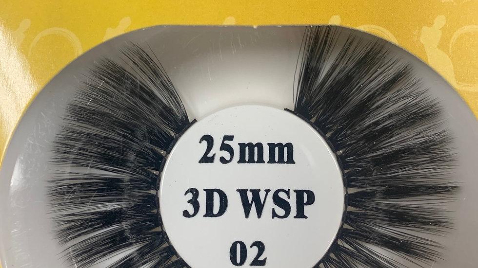 Retro tress 3D 25mm wispy