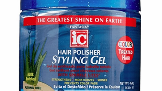 Fantasia IC Hair Polisher Styling Gel Color Treated Hair 16 oz