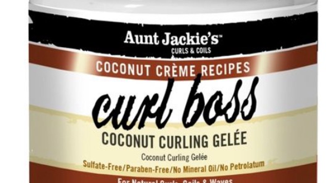 Aunt Jackie's Coconut Creme Recipes Curl Boss Coconut Curling Gelee - 15oz