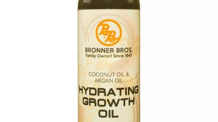BB Bronner Bros Coconut & Argan Oil Hydrating Growth Oil for Hair & Skin 4oz