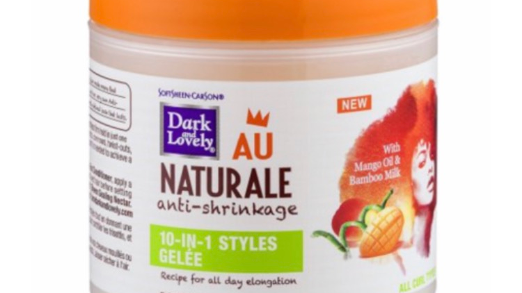 Dark and Lovely Au Naturale 10-in-1 Styles Gelee Anti-Shrinkage - 5.3 oz jar