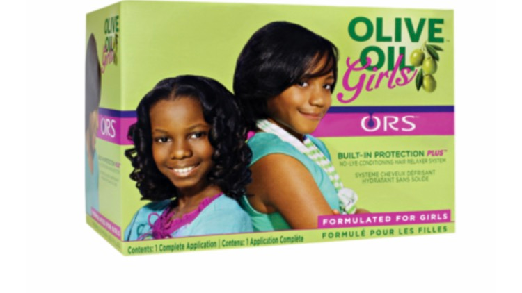 ORS Olive Oil Girls No Lye Conditioning Hair Relaxer System