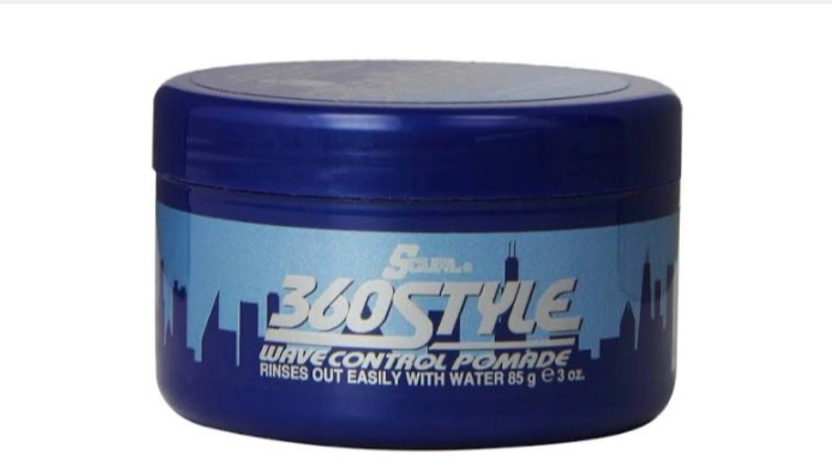 Luster's SCurl 360 Style Wave Control Pomade