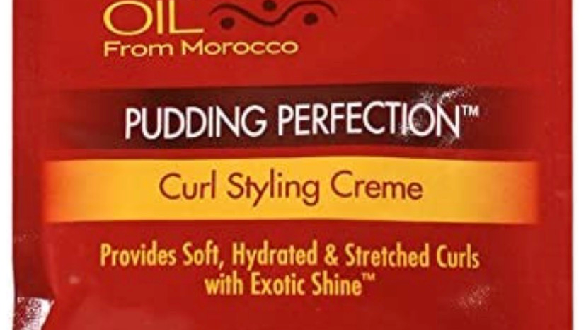 Creme of Nature Argan Oil Pudding Perfection Curl Styling Cream 1.5 Ounce