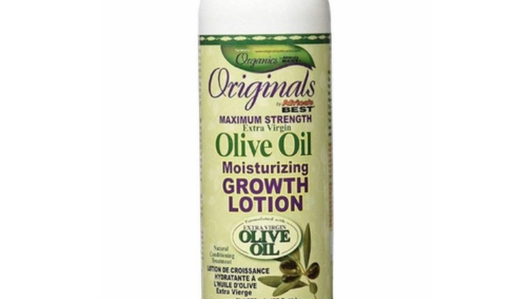 Africa's Best Originals Olive Oil Moisturizing Growth Lotion 12 oz