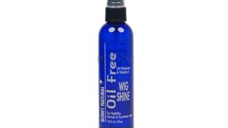 Bonfi Natural Oil Free Wig Shine 4 oz