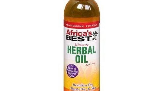 Africa's Best Ultimate Herbal Oil, 8 Oz