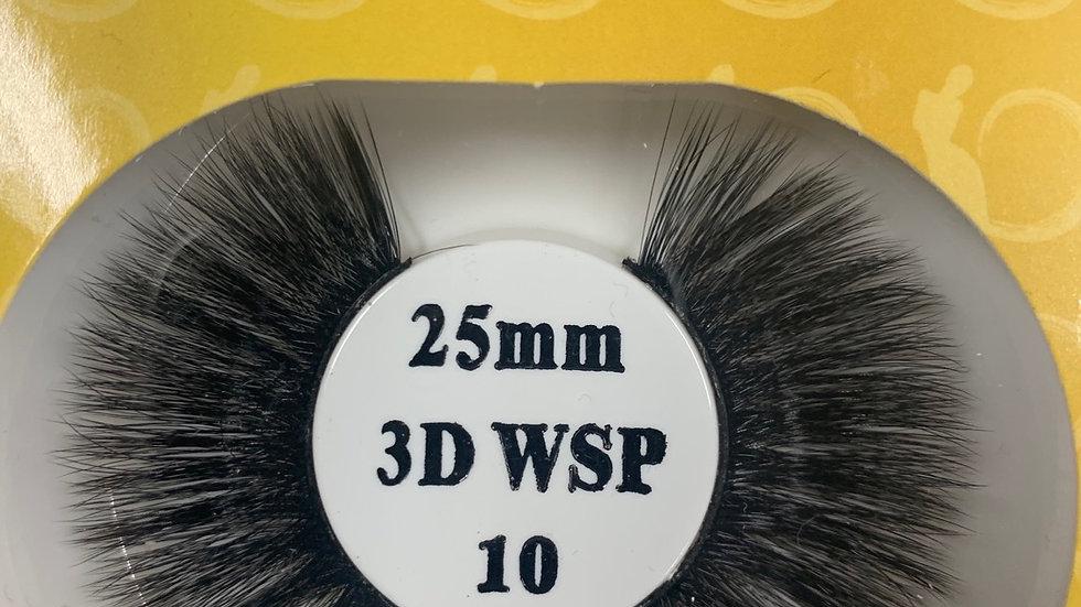 Retro tress 3D 25mm wispy #10