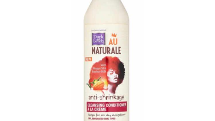 Dark and Lovely Au Naturale Anti-Shrinkage Cleansing Conditioner 13.5 oz