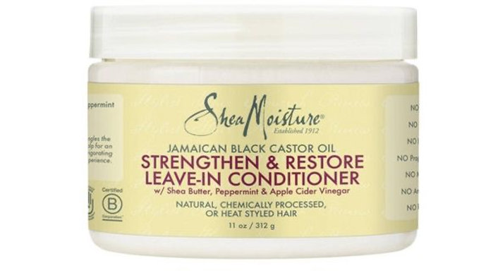 SheaMoisture Jamaican Black Castor Oil Strengthen & Restore Leave-In Conditioner