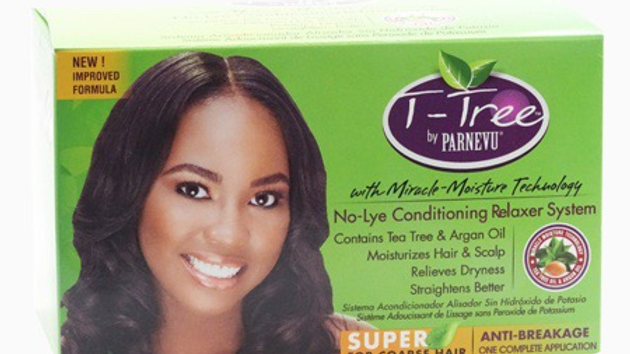 Parnevu T-Tree No-Lye Conditioning Relaxer Kit Super