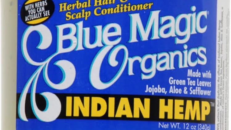 Blue Magic Organics Indian Hemp Herbal Hair & Scalp Conditioner - 12 oz jar