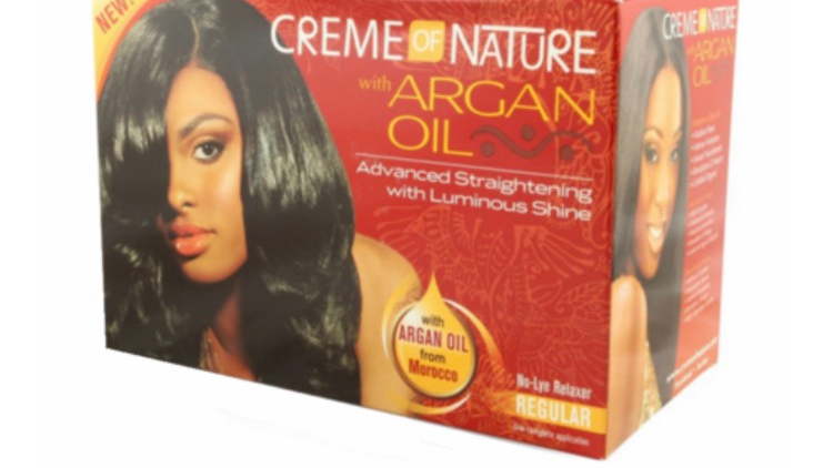 Cream of Nature Argan oil relaxer regular