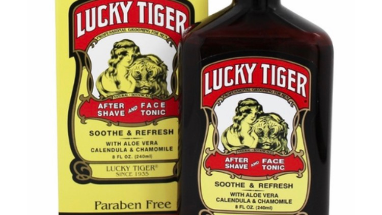 Lucky Tiger After Shave and Face Tonic 8 oz