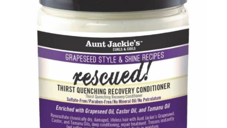 Aunt Jackie's Grapeseed Collection Rescued Thirst Quenching Recovery Conditioner