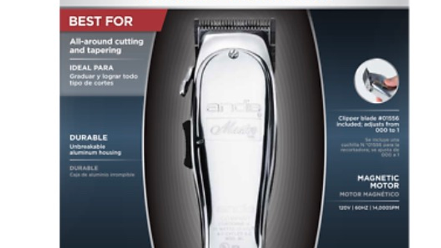 Andis Master Clipper (Metal Finish)
