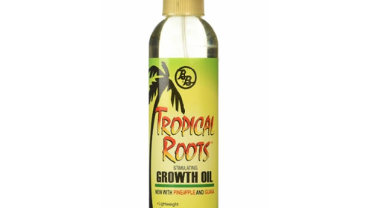 Bronner Brothers Tropical Roots Growth Oil 8 oz