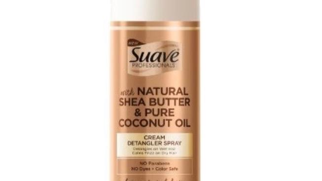 Suave Professionals Natural Shea Butter & Pure Coconut Oil Cream Detangler Spray