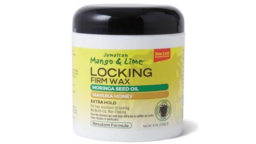 Mango & Lime locking firm wax  moranga seed oil