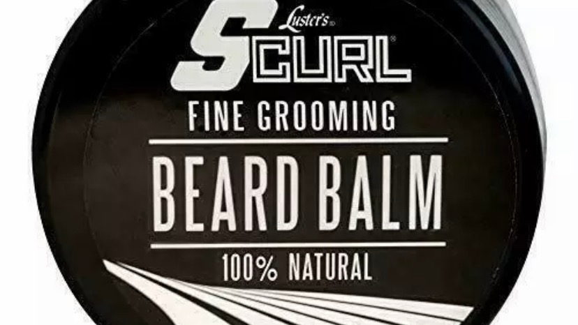 Luster's S Curl Fine Grooming 100% Natural Beard Balm 3.5oz