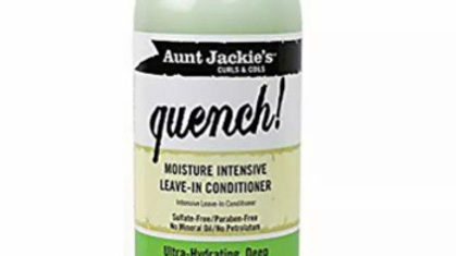 Aunt Jackie's Curls & Coils Quench! Moisture Intensive Leave-In Conditioner, 12o