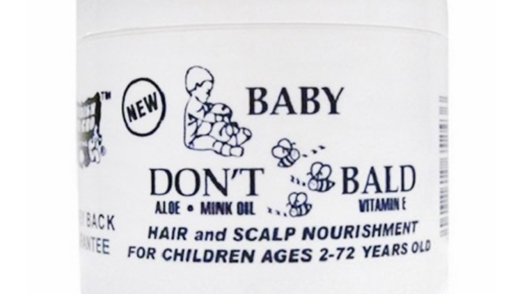 Baby Don't Be Bald Hair And Scalp Nourishment 4 oz