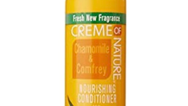 Creme of Nature Healing Conditioner for Dehydrated Hair, Chamomile and Comfrey,