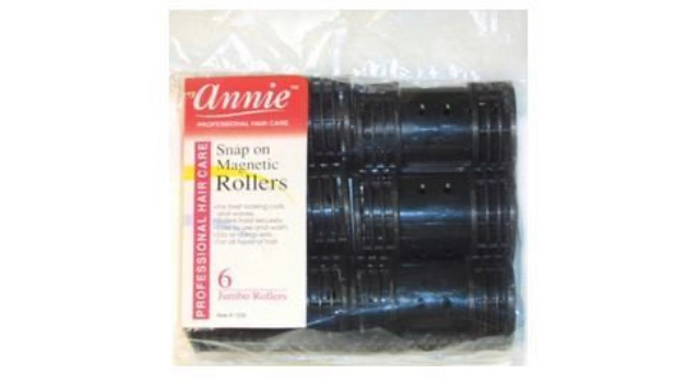 Annie Snap On Magnetic Rollers - JUMBO ROLLERS 6pk