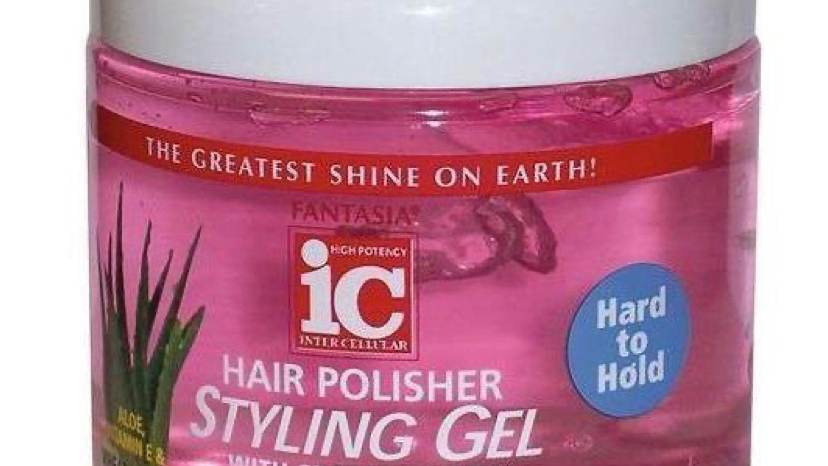 Fantasia IC Hard To Hold Hair Polisher Styling Gel 20oz