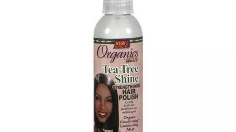 Africa's Best Organics Tea-Tree Shine Strengthening Hair Polish Mist 6 oz