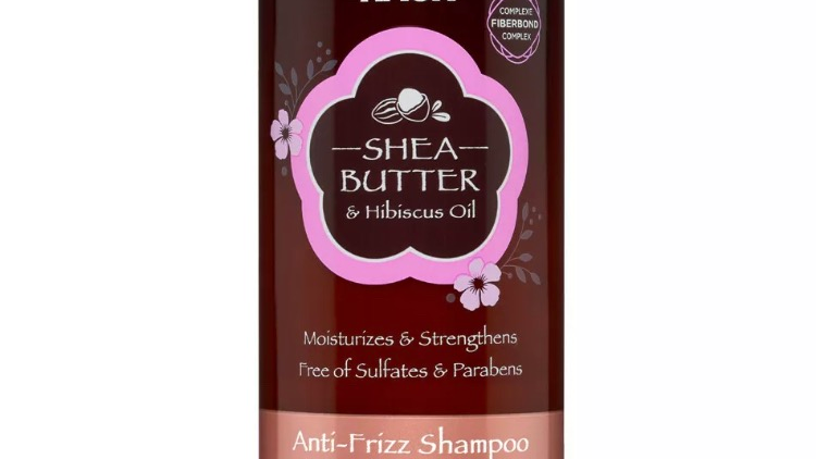 Hask Shea Butter & Hibiscus Oil Anti-Frizz Shampoo 12 fl oz