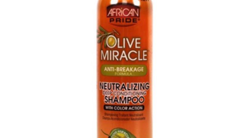 African Pride Olive Miracle Neutralizing Shampoo 8oz