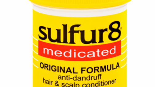 Sulfur 8 Medicated Original Formula Anti-Dandruff Hair & Scalp Conditioner 4 oz